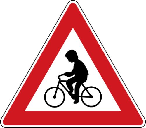 Dopravní značka: A 19 Cyklisté