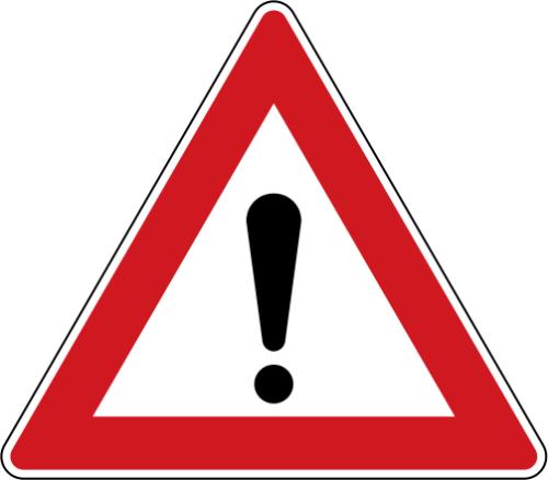 Dopravní značka: A 22 Jiné nebezpečí