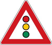 Dopravní značka: A 10 Světelné signály