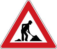 Dopravní značka: A 15 Práce na silnici