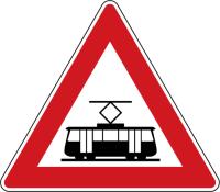 Dopravní značka: A 25 Tramvaj
