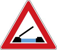Dopravní značka: A 33 Pohyblivý most
