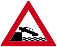 Dopravní značka: A 34 Nábřeží