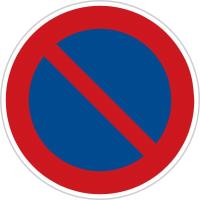 Dopravní značka: B 29 Zákaz stání