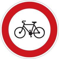 Dopravní značka: B 8 Zákaz vjezdu jízdních kol