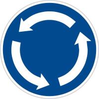 Dopravní značka: C 1 Kruhový objezd