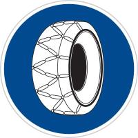 Dopravní značka: C 5a Sněhové řetězy