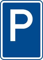 Dopravní značka: IP 11a Parkoviště