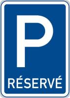 Dopravní značka: IP 12 Vyhrazené parkoviště