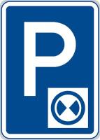 Dopravní značka: IP 13b Parkoviště s parkovacím kotoučem
