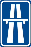Dopravní značka: IP 14a Dálnice