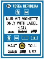Dopravní značka: IP 28a Zpoplatnění provozu