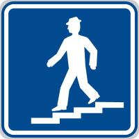 Dopravní značka: IP 3 Podchod nebo nadchod