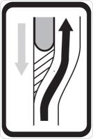 Dopravní značka: IS 10c Návěst změny směru jízdy