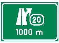 Dopravní značka: IS 6a Označení křižovatky