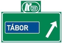 Dopravní značka: IS 6g Návěst před křižovatkou