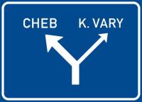 Dopravní značka: IS 9a Návěst před úrovňovou křižovatkou