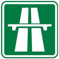 Dopravní značka: IZ 1a Dálnice