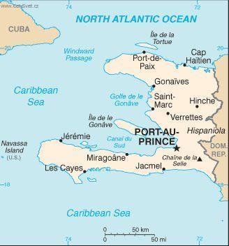 Foto Haiti Politicka Mapa