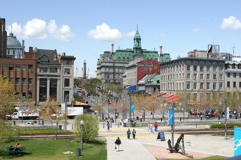 Foto: Kanada-Place Jacques Cartier