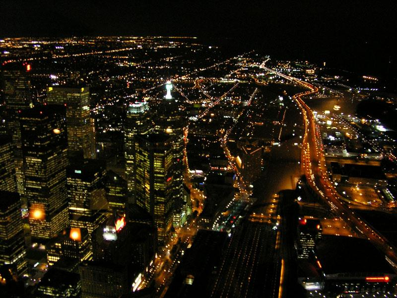 Foto: Kanada-Toronto at night