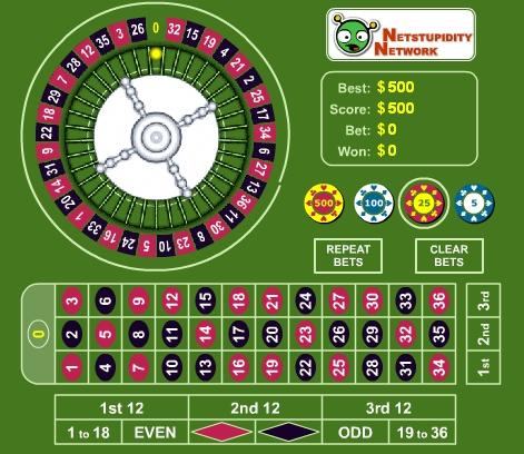casino online roulette free game onlin