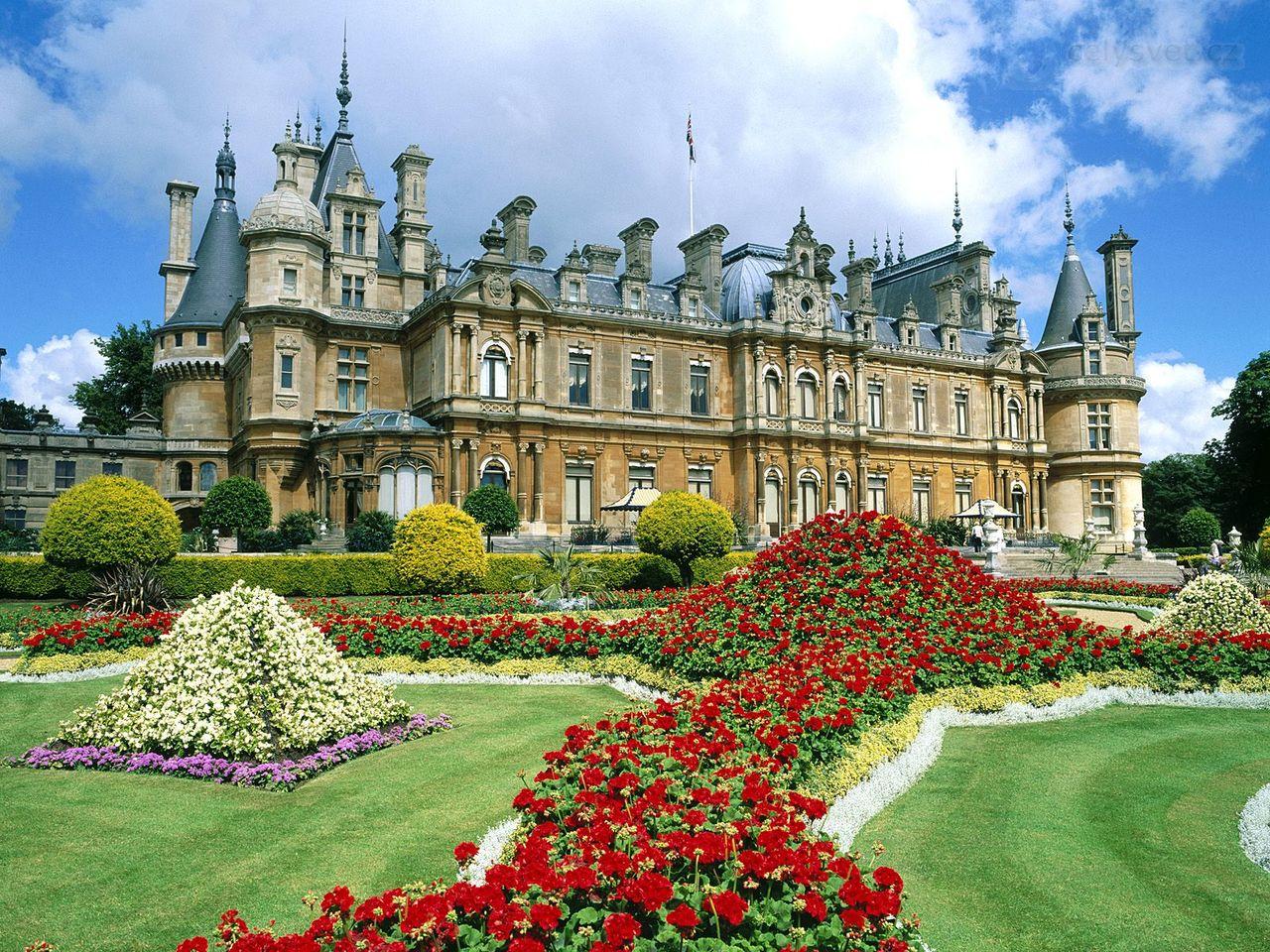 ... , Buckinghamshire, Anglie / Waddesdon Manor, Buckinghamshire, England