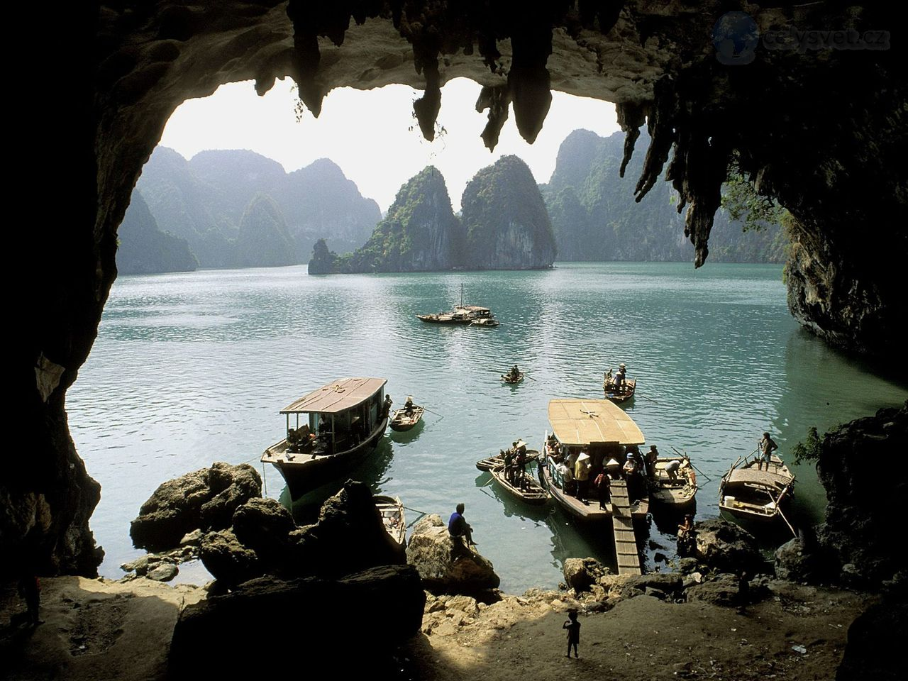 Vinh Vietnam  city photos : Vinh Ha Long jeskyně, Vietnam / Vinh Ha Long Grotto, Vietnam