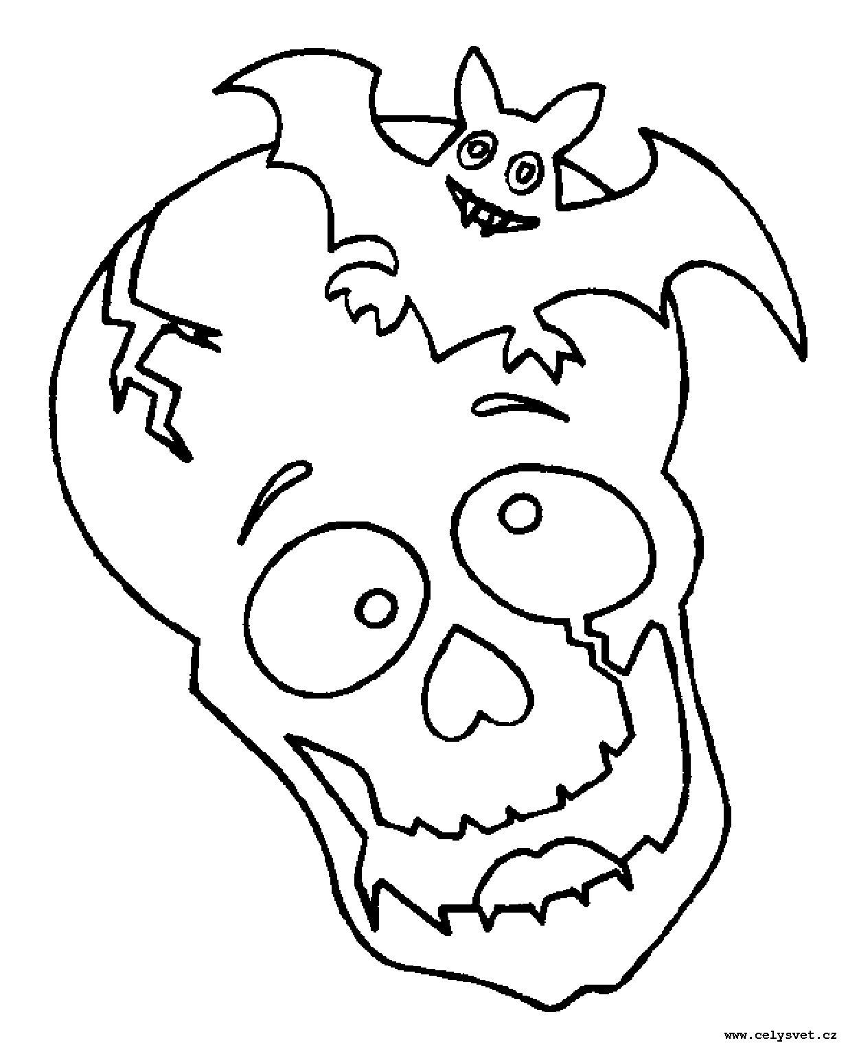 Omalovánka: Pro kluky: Piratí, příšery, strašidla, kostlivci