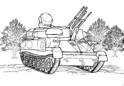 Všechny omalovánky 833 technika tanky vozidla 29 omalovánek