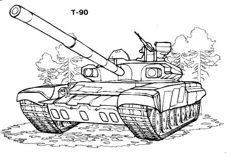 Omalov nky k vytisknut technika tanky vozidla - Coloriage de char ...